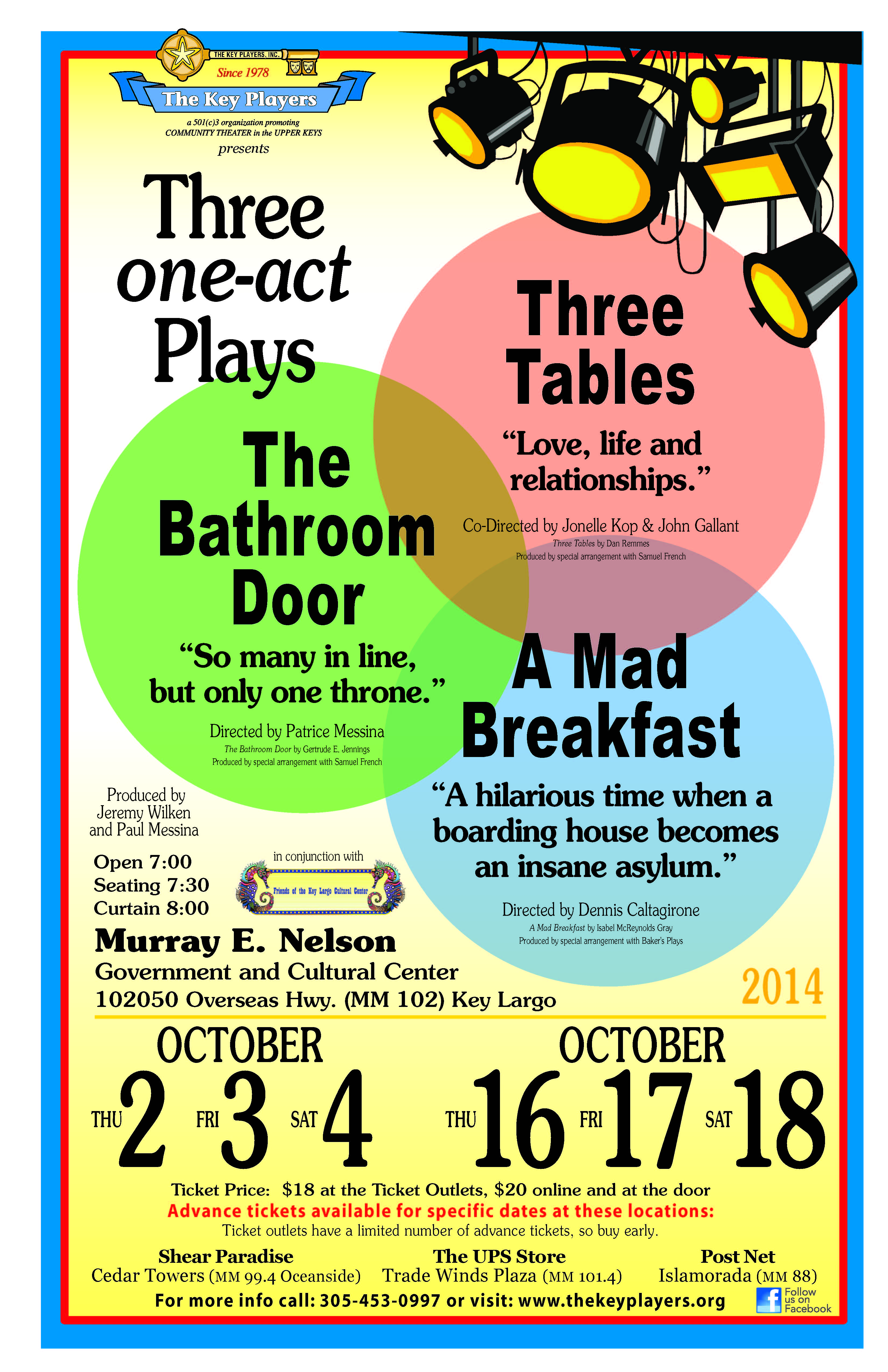 Three One-Acts Plays